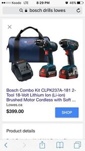 bosch drill package  Windsor Region Ontario image 3