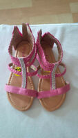 Girl's sandles and shoes size 13