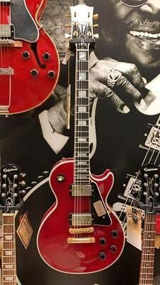 GIBSON LES PAUL CUSTOM WINE Rojo Guitarra Eléctrica