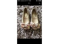 Monsoon girls party shoes