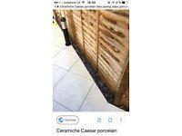 Ceramiche Caesar porcelain tiles paving slabs gres exterior 600 x 600 x 20mm