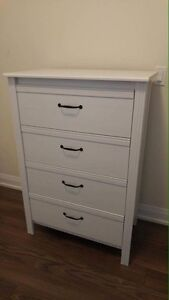 Ikea Four Drawer Chest Like New / Free Delivery