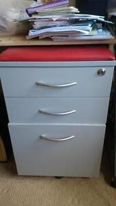 cabinet with drawers and filing space Greenwich Lane Cove Area Preview
