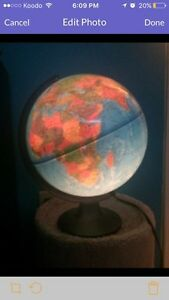Light up Globe / Lamp