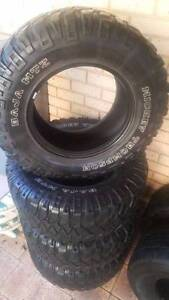 """6 X 33"""" MICKEY THOMPSON BAJA MTZ AND DUNLOP AT20 TYRES Melville Melville Area Preview"""