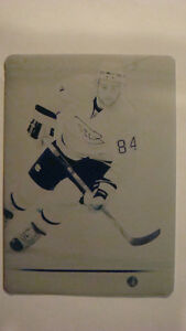 2008-09 UD Printing Plates Cyan GUILLAUME LATRENDRESSE #'d 1/1
