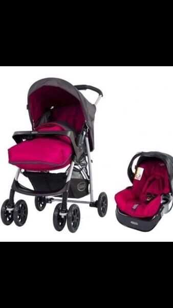 Graco Candy Travel System Pram Buggy and Carseat