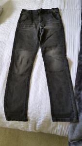 New size 16   Boys black grey jeans from Target Berkeley Vale Wyong Area Preview
