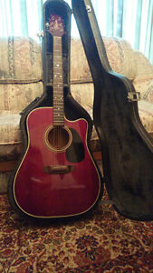 RARE EARLY 90'S TAKAMINE EF350MCR ACOUSTIC/ELECTRIC GUITAR London Ontario image 1