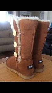 Tall Bailey Button Ugg Boots sz 6 Kitchener / Waterloo Kitchener Area image 2