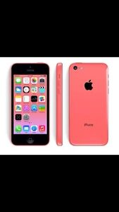 Iphone 5c Bell or Virgin Mobile , like new & clean-imei