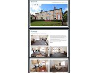 2 bedroom upper cottage flat to rent £550pcm