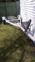 Dilly boat trailer
