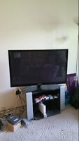42'samsuang LCD TV include stand