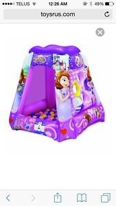 Sofia the first ball pit with 100+ balls St. John's Newfoundland image 1