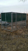 Dog Kennel 6ft x 10ft x 6ft high commerical grade