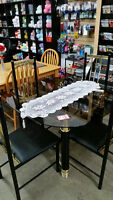 Glass dining set - Delivery Available