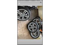 """BMW 19"""" original brand new wheels and tyres"""