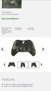 Xbox one Armed forces controller  $45