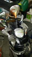 Assortment of Golf Clubs for Sale PORT PERRY plus used golf bag