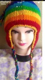 100% wool hats £4 each