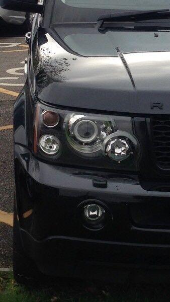 """Fully Loaded Black 55 Plate Land Rover Range Rover Sport 2.7 TDV6 HSE Long MOT 20"""" Alloys"""