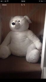 Massive new xmas teddy with a tag