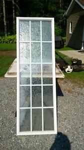 vitrail pour porte d'entrée