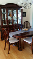 Buffet & Hutch, Table & 6 Chairs   Strathroy Furniture