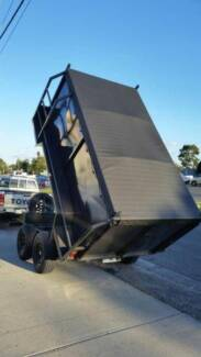 FROM $239 P/MONTH ON FINANCE* 10 X 5 BUILDERS TIPPER TRAILER