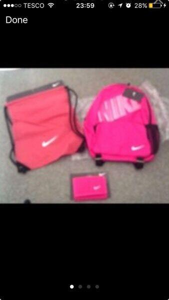 Nike backpack set... NEW  f708855cac6c1