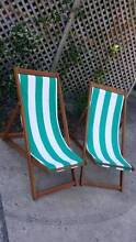 Pair of Sun Lounges Deck Chairs Seats Coogee Eastern Suburbs Preview