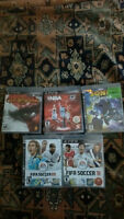 PRICE DROP SONY PS3 120GB + 6 GAMES AND CONTROLLER