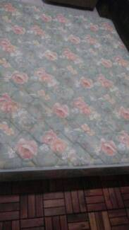 Red flower queen size mattress can deliver Inala Brisbane South West Preview