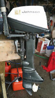 Johnson Seahorse 2 stroke short shaft 6 hp outboard motor