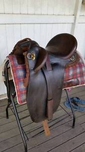 Syd Hill Suprema Cooroy Poley Stock Saddle - 15.5 inch seat. Somerset Area Preview