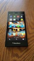 Unlocked Blackberry Leap with Charging Stand & Cases