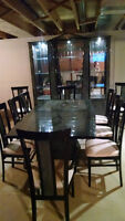 Marble plated dining room set - new price