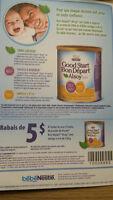 Recherche similac, Nestle a echanger