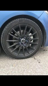 2016 Veloster Rally ( Summer Tires with Rims Kitchener / Waterloo Kitchener Area image 4
