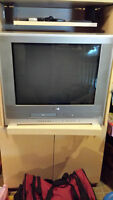 """27 """" tv with dvd and vcr combo"""
