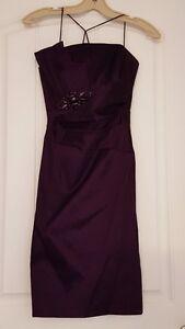 Dark Plum Melanie Lyne Boutique Dress