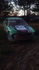 4 cylinder stock car and dolly