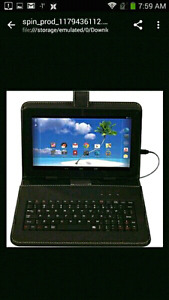 "Brand New Proscan 9"" Android 5 Tablet W/KB"