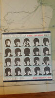 Vintage 1960's Beatles LP Album - Hard Day's Night (Russian)