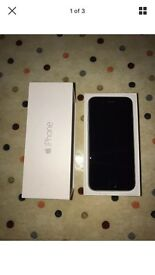 Iphone 6 64gb o2 giffgaff tesco mint condition boxed space grey