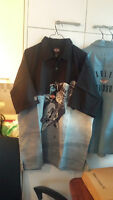 Harley Davidson casual mens short sleeve XL shirts +++