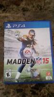 Madden NFL 15 ps4 comme neuf