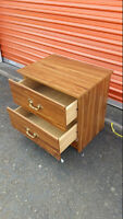 2 Drawer Nite Stand or End Table