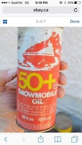 Wanted:Co-op snowmobile oil can